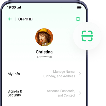 OPPO ID』- Sign in